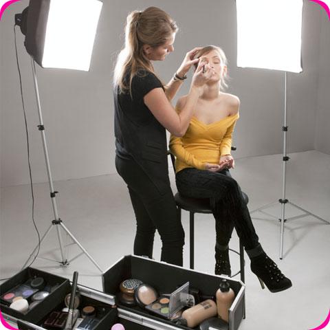 Maquillage de séance photo / Maquillage mobile / Maquilleuse de plateau